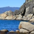 Rubicon Point's rocky outcroppings entice swimmers in D.L. Bliss State Park.- Touring Tahoe: 10 Must-Do Summer Adventures