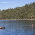 Paddling the shallows in Emerald Bay.- Touring Tahoe: 10 Must-Do Summer Adventures