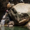 Descending Tenaya Canyon.- Destination Yosemite: Adventure abounds in Tuolumne High Country