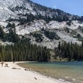 The beach at Tenaya Lake's east end.- Destination Yosemite: Adventure abounds in Tuolumne High Country