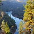 Viewpoints above the South Fork Yuba River along the Point Defiance Loop Trail.- Exploring California's Gold Country