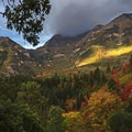 Mount Timpanogos near the town of Sundance along the Alpine Loop.- 5 Ways to Experience Autumn in Utah