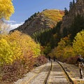 Heading to a fishing hole in Provo Canyon.- 5 Ways to Experience Autumn in Utah
