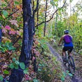 Riding the Lost Prospector Trail in Park City.- 5 Ways to Experience Autumn in Utah