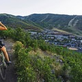 Park City from the Lost Prospector Trail.- 5 Ways to Experience Autumn in Utah