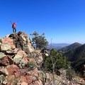 Arizona Trail, Mazatzal Wilderness. Photo by Roger Smith- Woman In The Wild: Sirena Rana Dufault