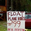 Float plane rides start at $99 per person.- Learning to Fly in Moose Pass, Alaska