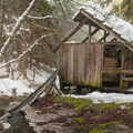 The soaking house at Bagby Hot Springs.- Oregon's Best Hot Springs