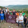 A Latino Outdoor outing in the Texas Hill Country at Bear Springs Blossom with Texas Land Conservancy.- Woman In The Wild: Josie Gutierrez