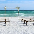 The beaches along Okaloosa Island are popular wedding spots!- 10 Fantastic Beach Towns in Florida