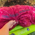 "The most impressive new feature on the Hazel SL 15 were the ""cinching"" hooks and loops along the feet and legs. This is a great way to hold in heat for colder sleepers who like a mummy-shaped bag.- Gear Review: 4 Best Women's Sleeping Bags of 2018"