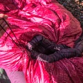 The down hood has a cinching cord to lock in warmth.- Gear Review: Big Agnes Hazel SL 15 Women's Sleeping Bag