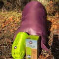 All photos were taken with the Big Agnes Q-CORE SLX, but the pad cover is compatible with all different sleeping pads!- Gear Review: Big Agnes Hazel SL 15 Women's Sleeping Bag