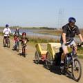 Biking the Bay Trail. (Photo courtesy of Dan Sullivan.)- Save The Bay: A Partnership for Restoration