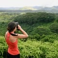 Birding on the Kuilau Ridge Trail. - Woman In The Wild: Sarah Connette