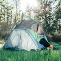 The Riverfront Orchard Camp is a private campsite on the Scott River in Callahan, California. Photo by Lisse Lundin via Hipcamp.- Your Guide to Last-Minute Camping