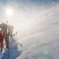 Strong winds are common in the Wallowas.- Backcountry Skiing in Oregon's Wallowa Mountains