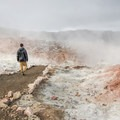 Sulphur steam at the base of Brennisteinsalda.- 14 Must-Do Activities In Iceland