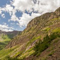 Working our way up the road.- 5 Epic Hikes in the Sawatch Range + Elk Mountains