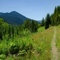 The Pacific Northwest National Scenic Trail.- Going the Distance