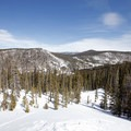 View to the east from the Sallie Barber Mine.- 22 Must-do Snowshoe Trails in the West