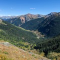 View of the campground and trailhead from the trail near Island Lake.- 10 Reasons to Visit the San Juan Mountains