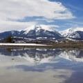 Buffalo Mountain high above the Dillon Nature Preserve.- Colorado's Best Kid-Friendly Snowventures