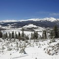 The Tenmile Range from Sapphire Point.- Great Snowshoeing Near Denver