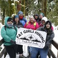 Fat Girls Hiking Snowy Retreat 2018, Salmon River. Photo courtesy of Fat Girls Hiking.- Women In The Wild 2018: A Series of Celebrations + Conversations