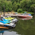 Personal watercrafts are available for rent.- Loon Lake Lodge + RV Resort