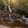 Laurel Falls, Great Smoky Mountains National Park.- 8 Unique Fall Camping Trips