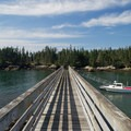 Duck Harbot Dock, Isle Au Haut.- Acadia National Park