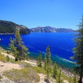 Cleetwood Cove.- Crater Lake National Park