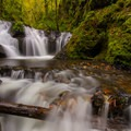 Emerald Falls on Gorton Creek.- Columbia River Gorge National Scenic Area