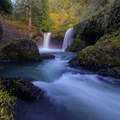Spirit Falls.- Columbia River Gorge National Scenic Area