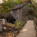 Cable Mill in Cades Cove, Great Smoky Mountains National Park.- A Guide to Leaf-peeping Weekends in the Blue Ridge Mountains
