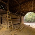 Historic Barn in Cades Cove, Great Smoky Mountains National Park.- Cades Cove Loop