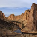 Smith Rock with the Crooked River.- Smith Rock State Park