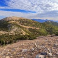 Aptly named Bald Mountain to the north.- Wheeler Peak
