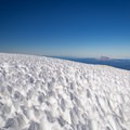 Interesting ice formations on the summit.- Mount Adams: South Climb