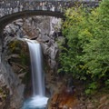 Christine Falls on Mount Rainier.- American Rainforests You Need to See