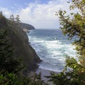 View from the trail north of Cape Lookout.- Cape Lookout State Park
