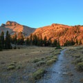 Nearing the Stella Lake  junction.- Wheeler Peak