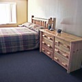 Premium cottage interior. Photo courtesy of Loon Lake Lodge.- Loon Lake Lodge + RV Resort