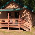 Basic cottage.- Loon Lake Lodge + RV Resort