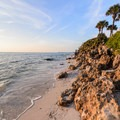 The ancient reef at Point O' Rocks, Florida.- 5 Warm-Weather Winter Getaways