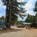 Loon Lake Lodge main area.- Loon Lake Lodge + RV Resort