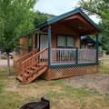 Cozy cabin.- Loon Lake Lodge + RV Resort