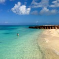 North beach access for snorkeling at Dry Tortugas  National Park.- 10 Fantastic Beach Towns in Florida