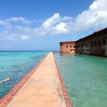 The Fort Jefferson Boardwalk at Dry Tortugas National Park.- The Ultimate Florida Road Trip Part II: Central + South Florida